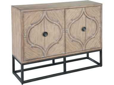 Metal Base Accent Console