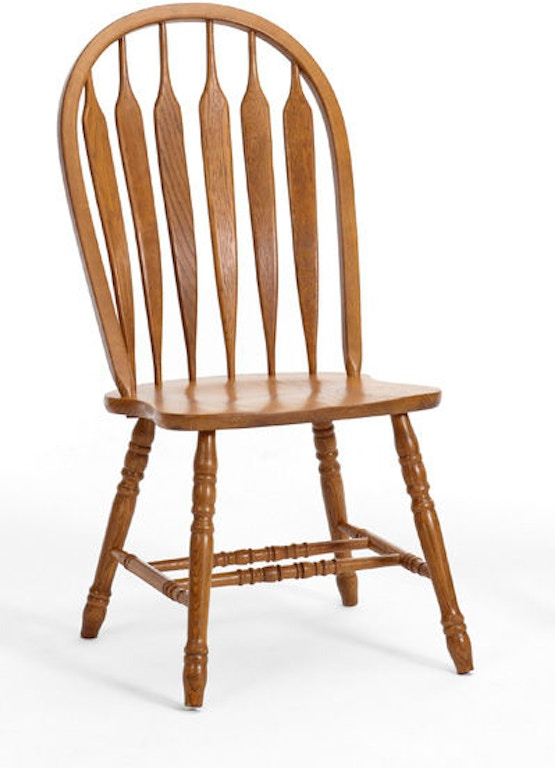intercon dining room classic oak detailed arrow side chair co ch