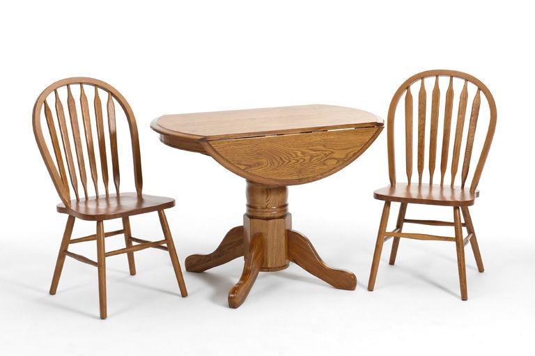 Intercon Dining Room Classic Oak Drop Leaf Pedestal Base CO TA L42D CNT BSE  At Rossou0027s Furniture