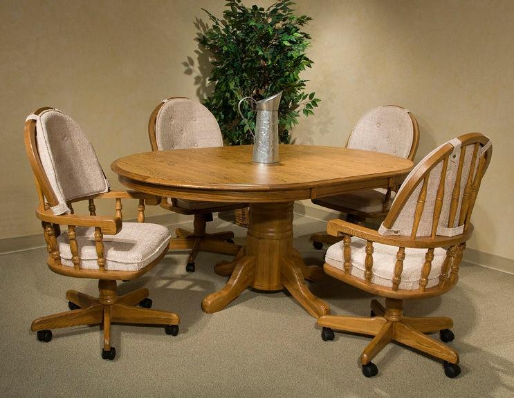Intercon Classic Oak Chestnut Laminate 48 X 70 Table CO TA L4870 CNT