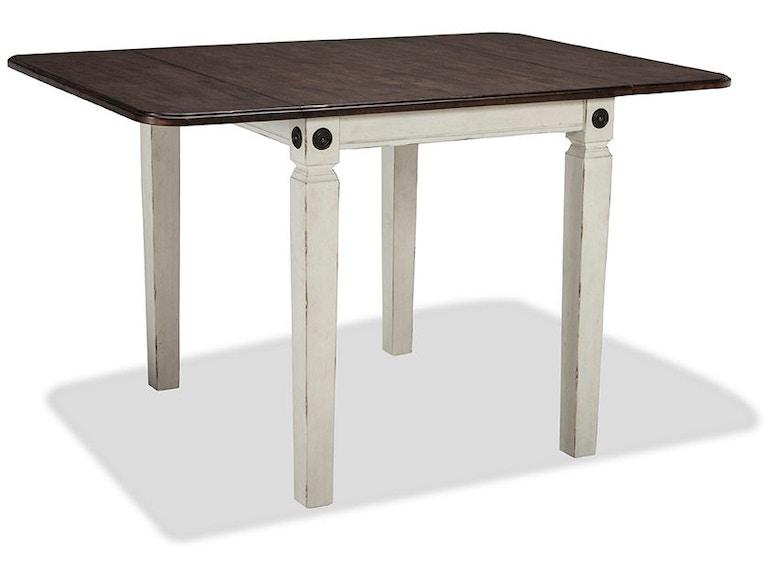 intercon glennwood drop leaf dining table gw ta 3650d rwc c - Dining Table Leaf