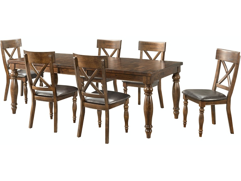 Intercon Kingston Dining Table KG TA 4290B RAI C
