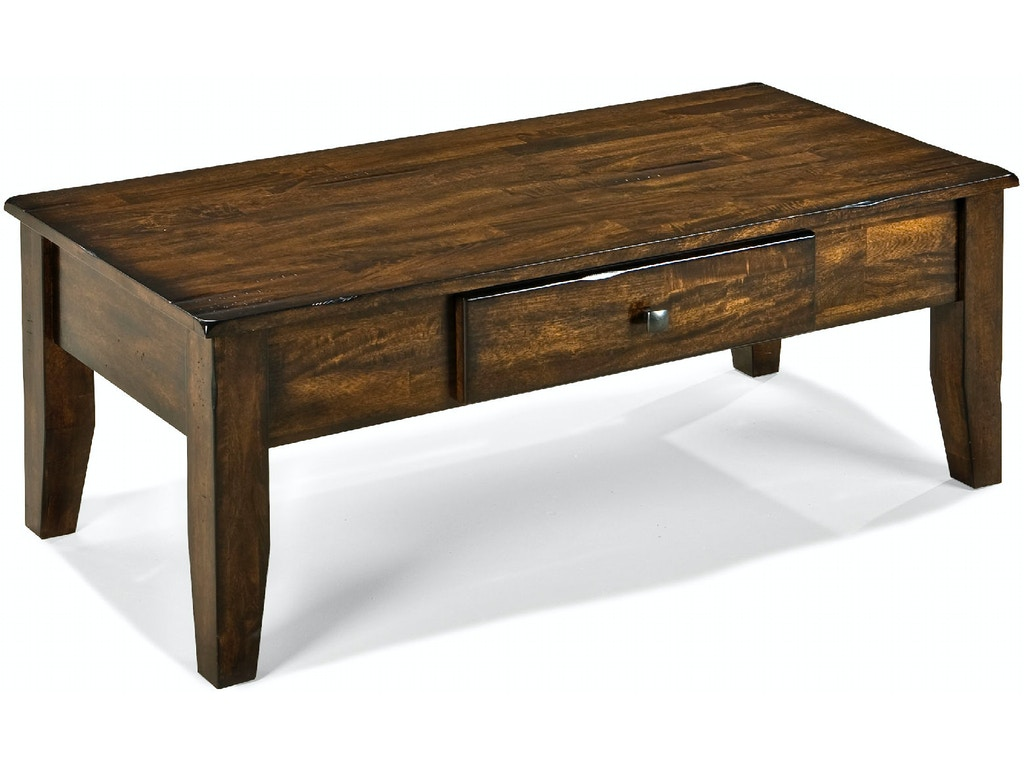 Intercon Living Room Kona Coffee Table Ka Ta 4822 Rai C Stacy Furniture Grapevine Allen