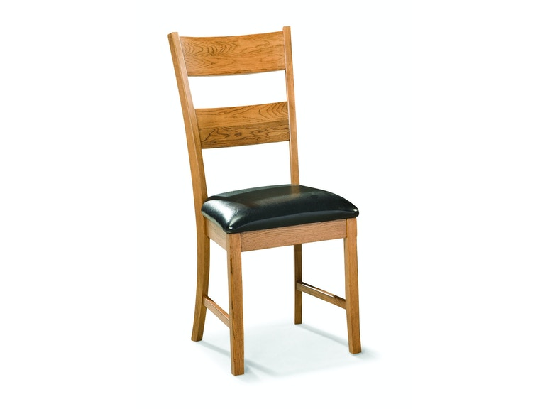 Intercon Family Dining Ladder Back Side Chair FD-CH-169C-CNT-RTA