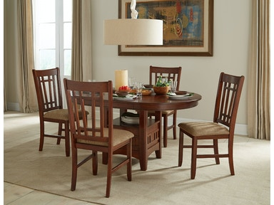 Intercon Dining Room Mission Casuals Table With Box Base