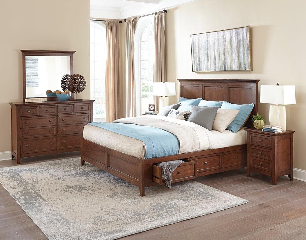 Intercon Bedroom San Mateo Storage Bed SM-BR-8865S-TUS-C ...