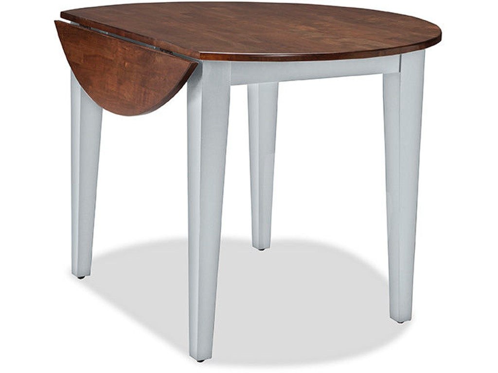 intercon dining room small spacedrop leaf dining table ss
