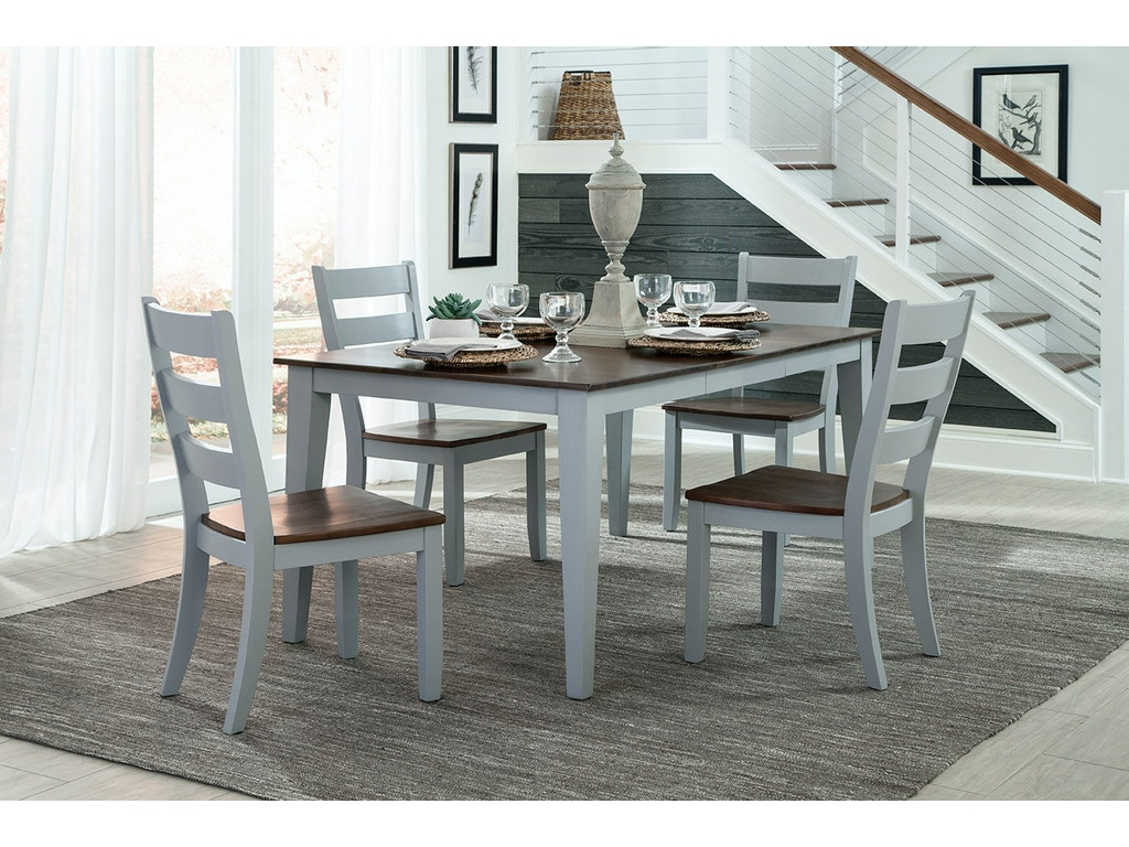 Intercon Small Space 38 X 48 66 Dining Table SS TA 3866