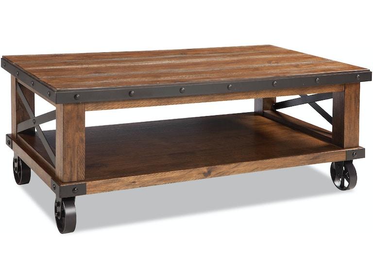 Intercon Taos Coffee Table With Caster Ts Ta 5028c Cyb C