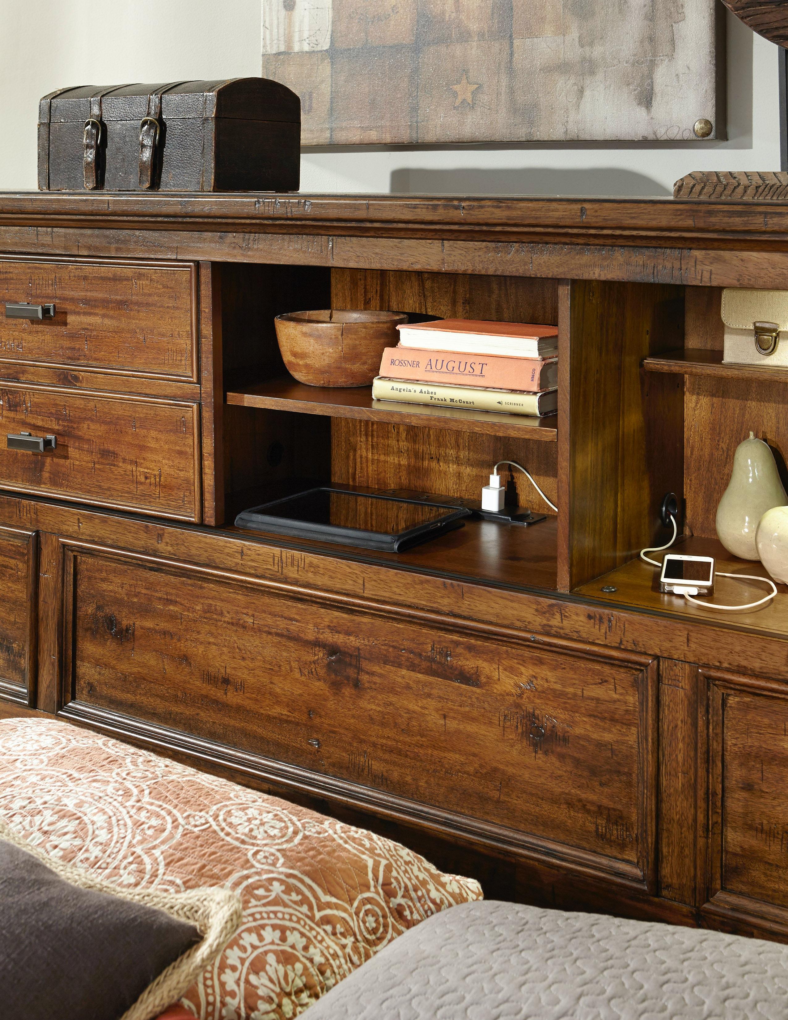 High Quality Intercon Wolf Creek Bookcase Bed WK BR 6190B VAC C