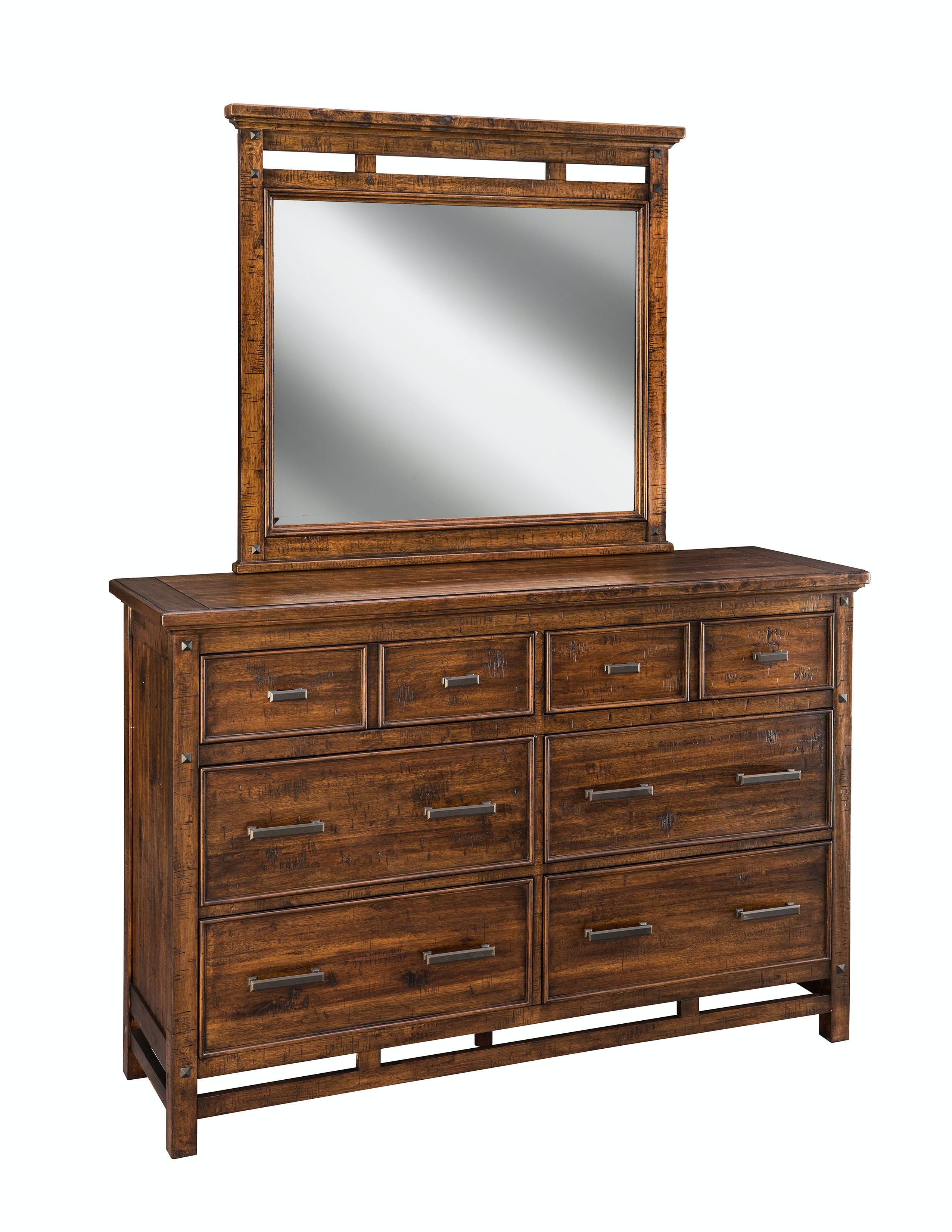 Attractive Intercon Wolf Creek Six Drawer Dresser WK BR 6106 VAC C Design Inspirations
