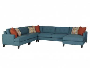 Jonathan Louis International Mia Sectional 005-Sectional