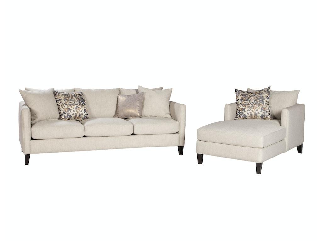 Jonathan louis international living room chaise 09529 for Chaise wayne