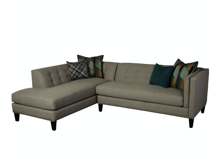 Jonathan Louis International Living Room Strathmore Sectional 111 Sectional Indiana Furniture