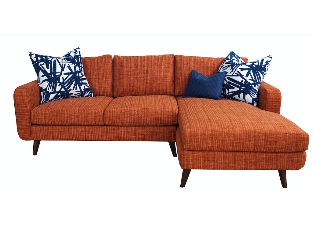 Jonathan louis international living room leo sectional 137 for Chaise wayne