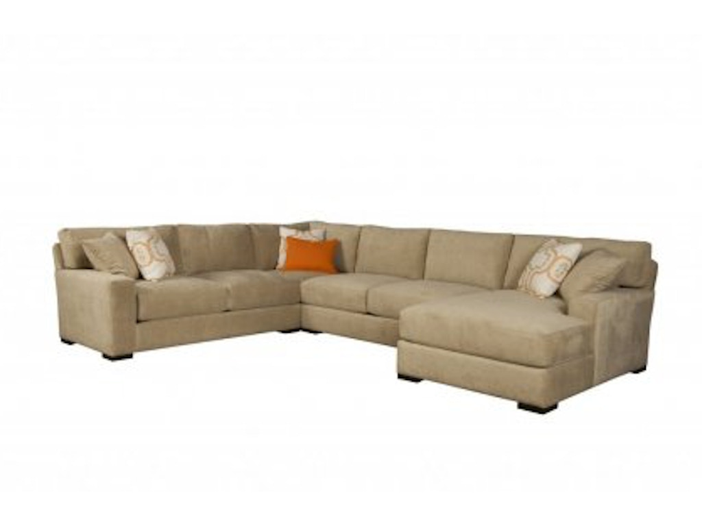 Jonathan Louis International Living Room Sectionals 189-Sectional ...