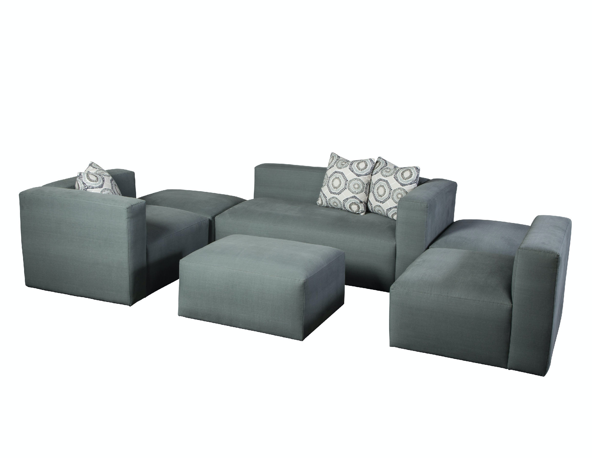 Jonathan Louis International Living Room Nico Sectional 253 Sectional At Klopfenstein  Home Rooms