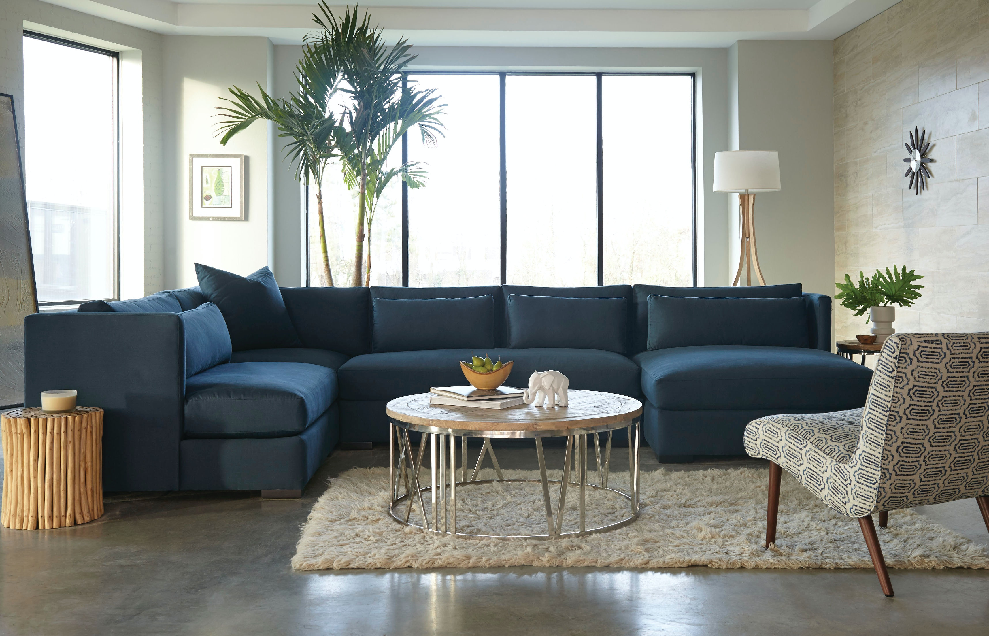 Jonathan Louis International Living Room Munro Sectional 586 Sectional At Klopfenstein  Home Rooms