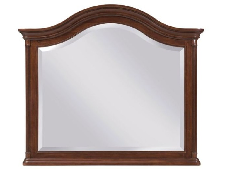 kincaid furniture home furnishings arched landscape mirror 607 020