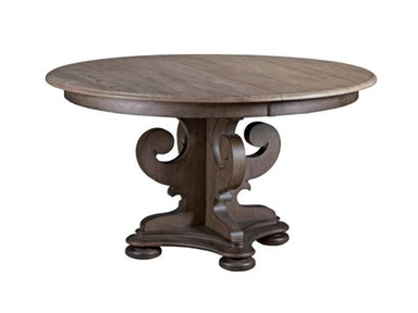 Kincaid Furniture Grant Round Ped Dining Table Package 608-701P