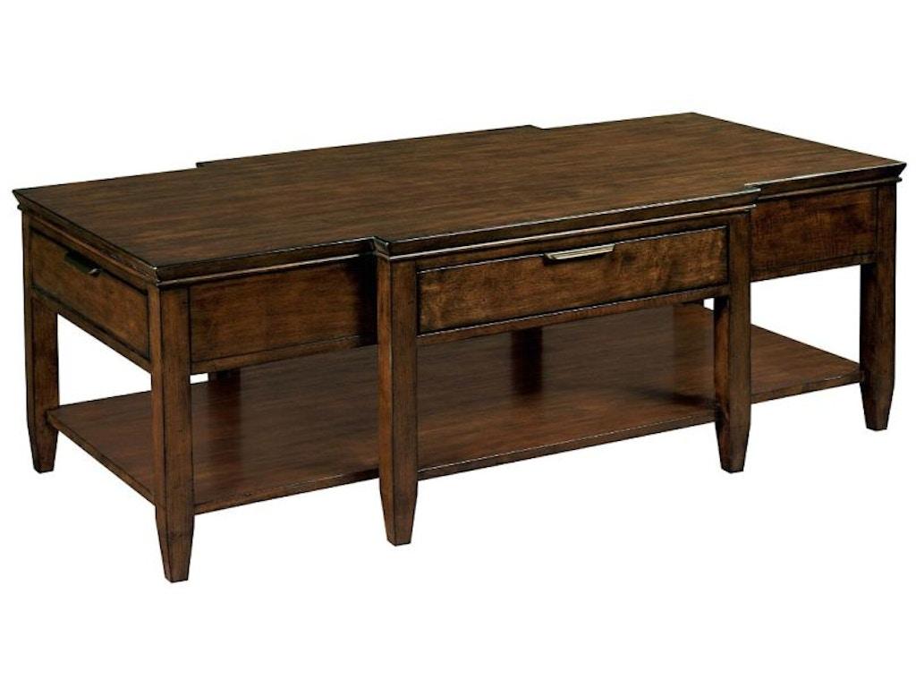 Kincaid furniture living room elise cocktail table 77 023 for Kincaid furniture