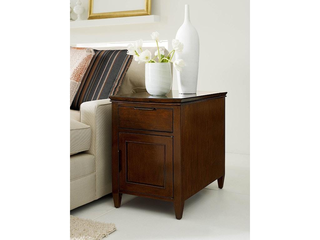 Kincaid furniture living room elise chairside table 77 026 for Kincaid furniture