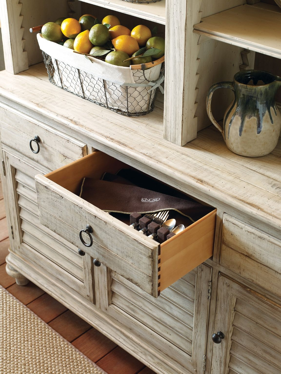 Kincaid Furniture Hastings Open Hutch/Buffet Pkg 758671P