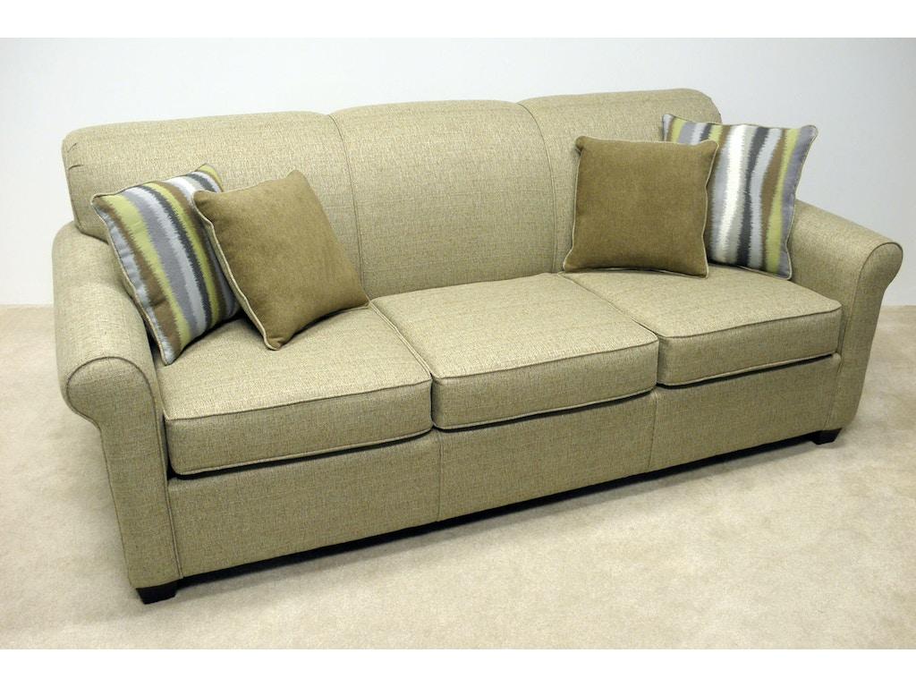 Lacrosse living room no sag sofa 283 60z designer for Living room no couch