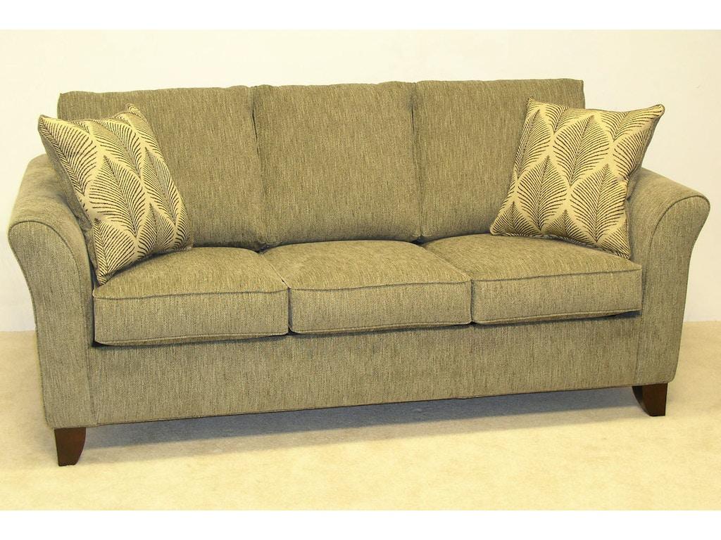 Lacrosse living room 81 39 39 no sag sofa 6514lc new ulm for Living room no sofa
