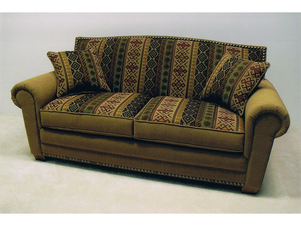 Lacrosse living room 78 39 39 no sag sofa 5801lc summit for Living room no sofa