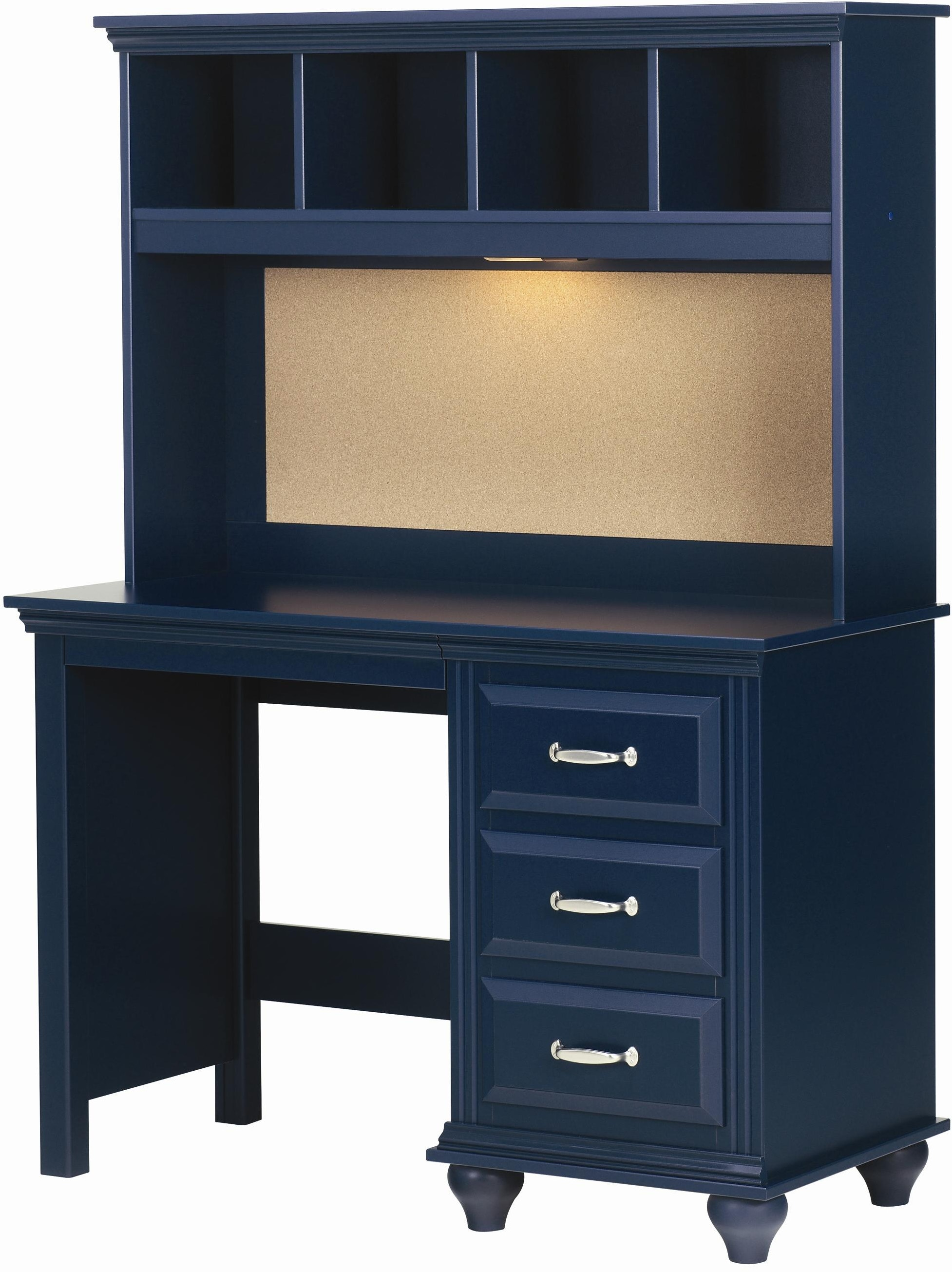 Lang Furniture Youth Desk Hutch With Light Mad 07 Ht4531