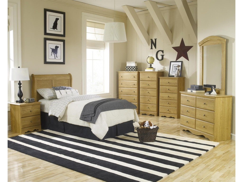 Lang Furniture Bedroom Tall Chest of Drawers OAK-70-A3-524TALL ...