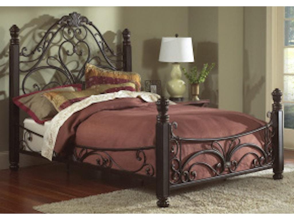 Largo international bedroom queen complete bed 1195q for Bedroom furniture 28117
