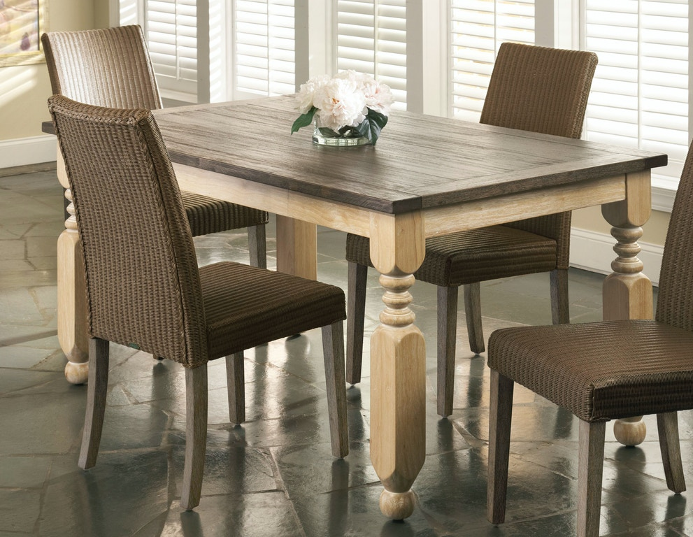 Largo International Dining Room Rectangular Turned Leg