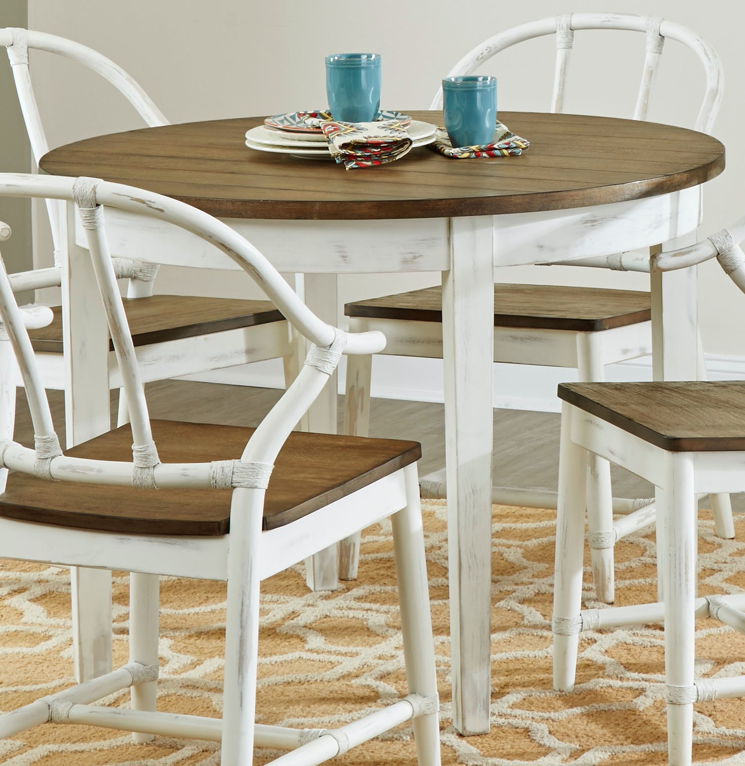 30 dining table 42 inch largo international round dining table d25930 room stacy
