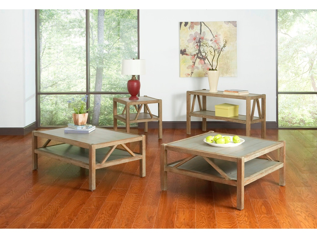 Largo international living room square cocktail table t541 for P square living room