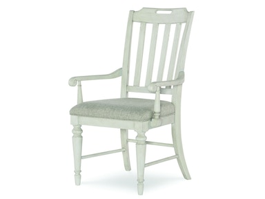 Legacy Classic Furniture Slat Back Arm Chair 6400-141 KD