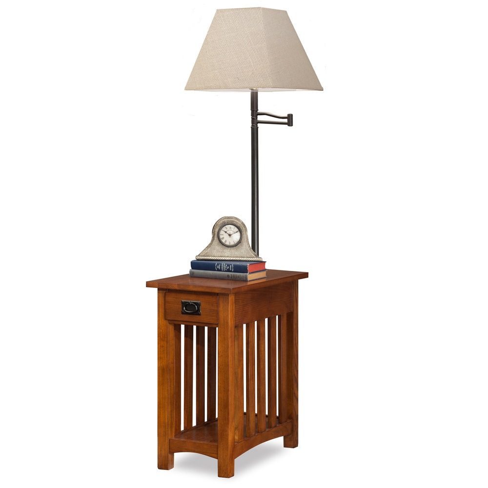 Leick Furniture Lamp Table 10028