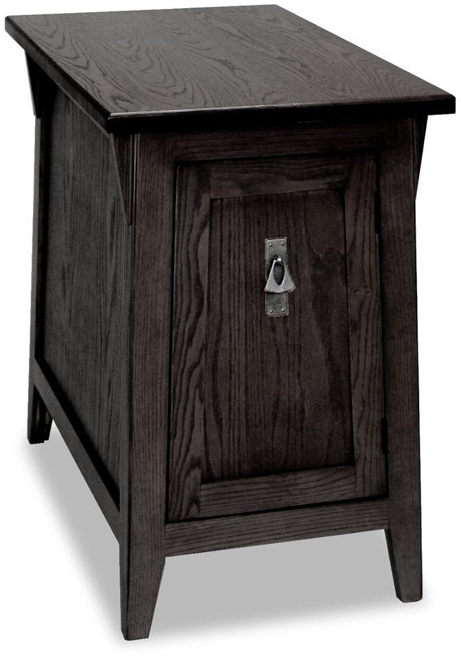 Leick Furniture Living Room Mission Cabinet End 10032 Sl