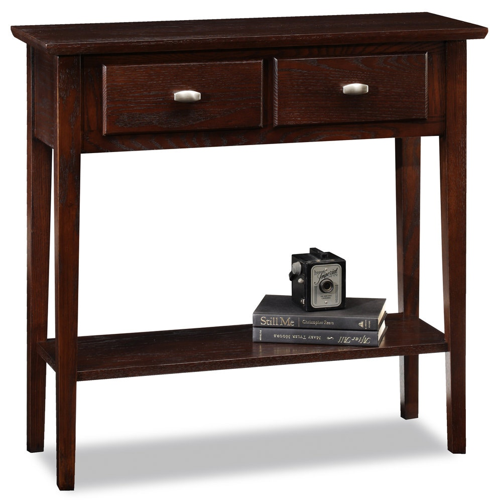 Leick Furniture Living Room Hall ConsoleSofa Table 10075  : 10075 ch from www.habeggerfurniture.com size 1024 x 768 jpeg 33kB
