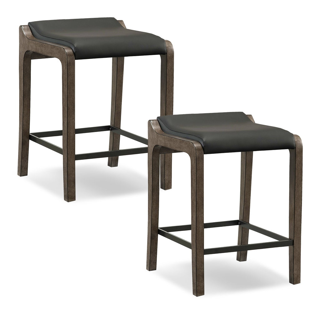 Leick Furniture Bar And Game Room Gray Stone Wood Fastback