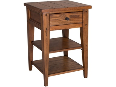 Liberty Furniture Living Room Chair Side Table 110-OT1021 - Lynch ...