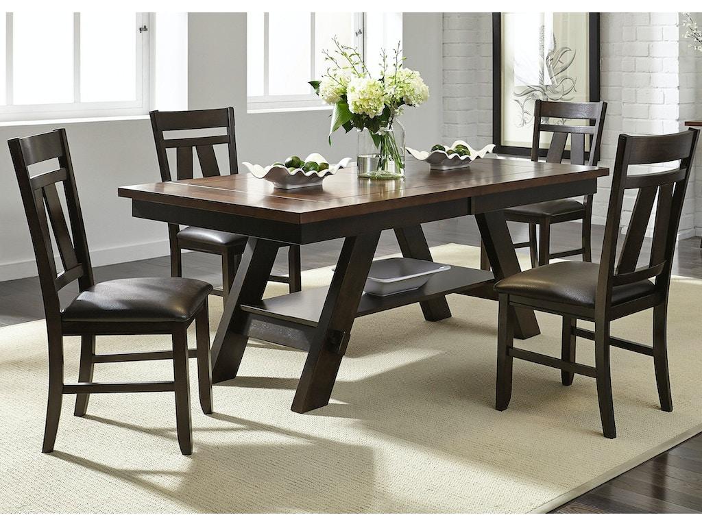 Liberty Furniture Dining Room 5 Piece Rectangular Table Set 116-CD-5RLS