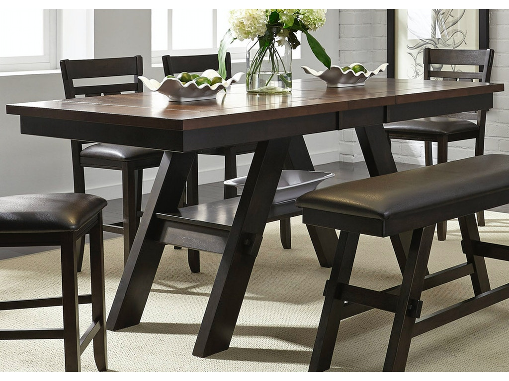 Liberty Furniture Dining Room Gathering Table Base 116 Gt4078b Valley Furniture Company
