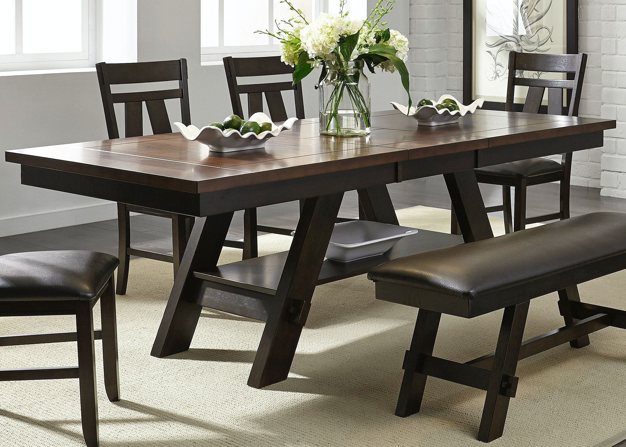 Liberty Furniture Dining Room Pedestal Table Top 116