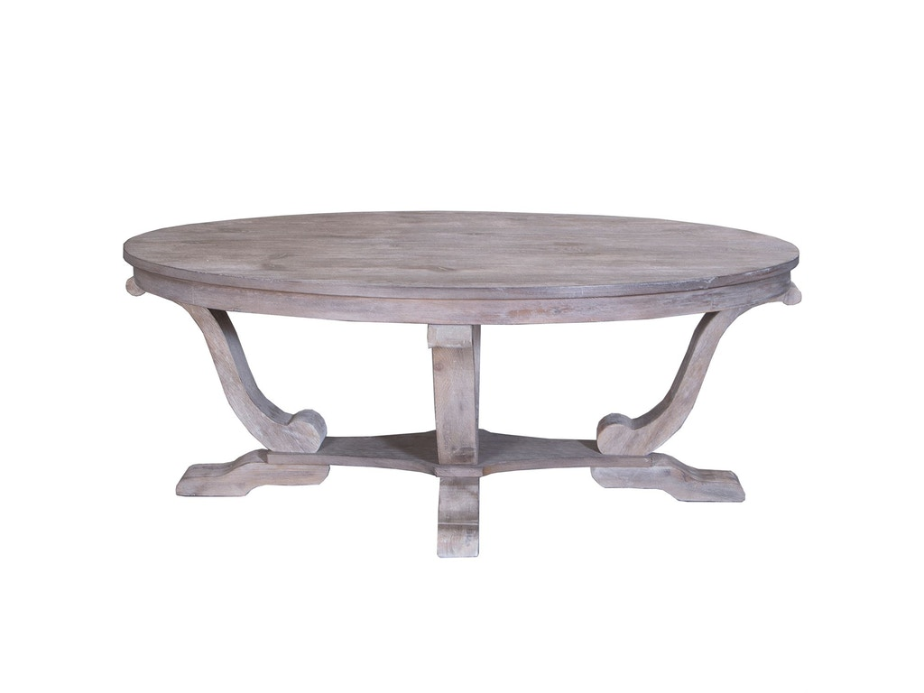 Liberty Furniture Living Room Oval Cocktail Table 154