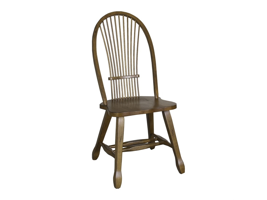 Liberty Furniture Dining Room Sheaf Back Side Chair Oak 17 C1032 Gallery Furniture Medford Ny