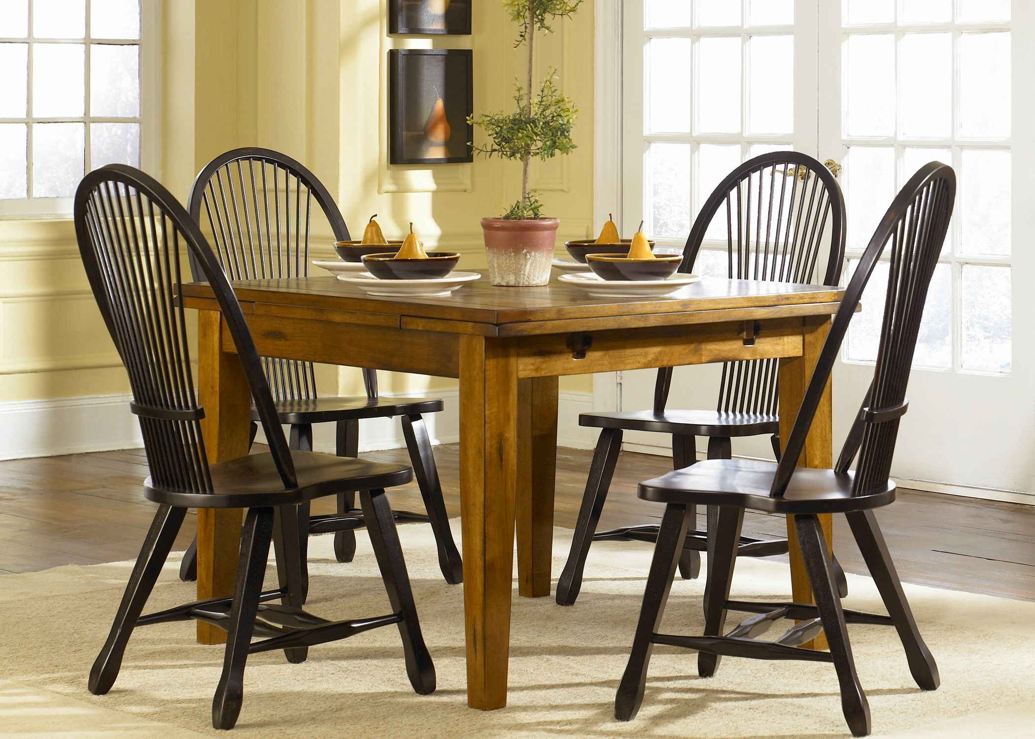 Liberty Furniture Dining Room Retractable Leg Table Oak  : 17 t3868 from www.arthurfschultz.com size 1024 x 768 jpeg 107kB
