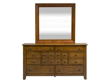 Liberty Furniture Dresser And Mirror 175-BR-DM