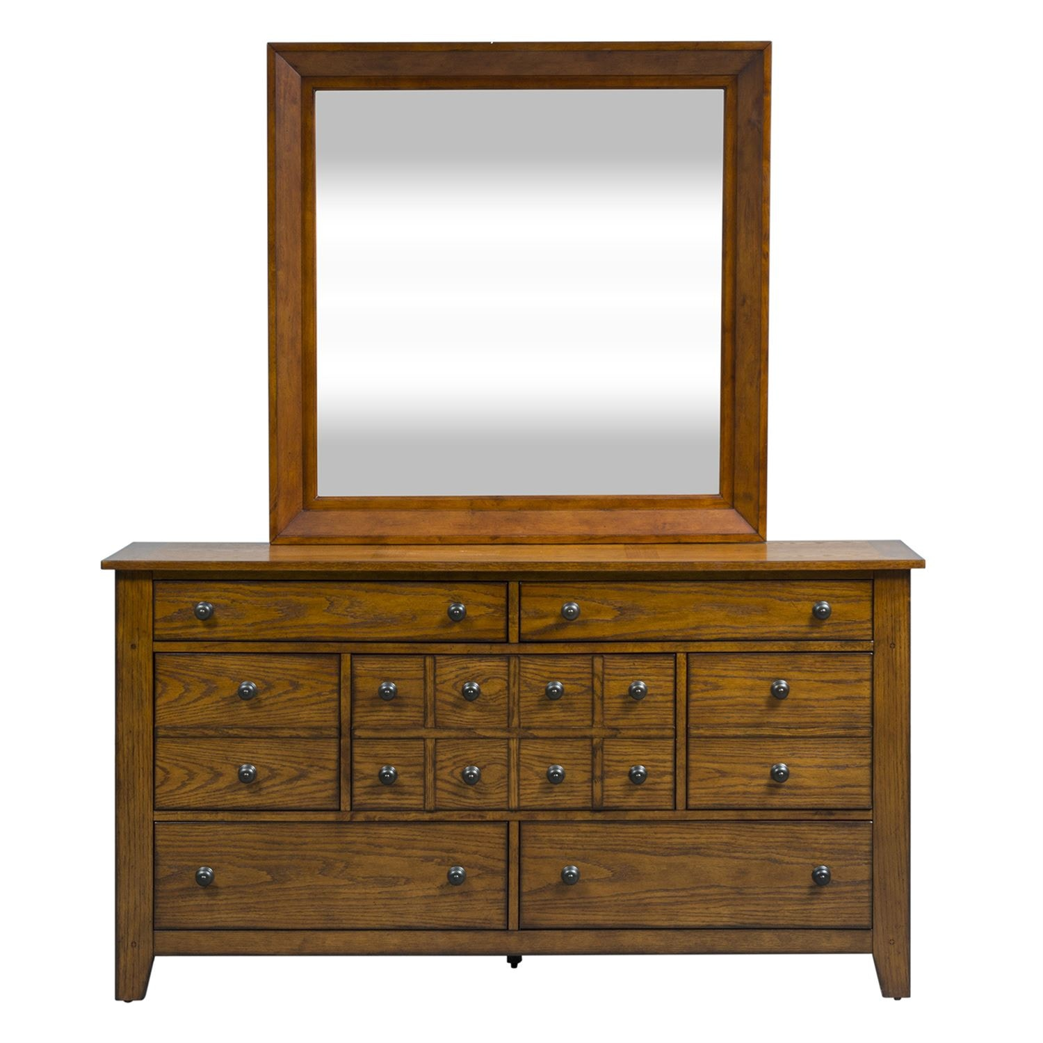 liberty furniture dresser and mirror 175brdm